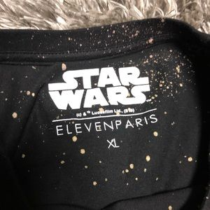 94e978051 Eleven Paris Shirts   New Star Wars Darth Vader Is My Boss Splatter ...